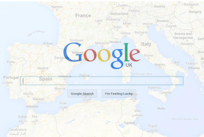 Regional Google Search