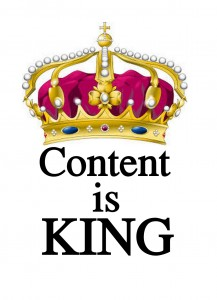 SEO advice - Content is King