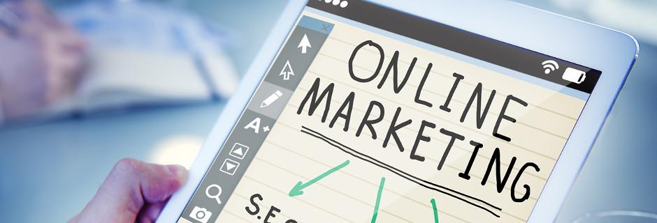online-marketing tablet