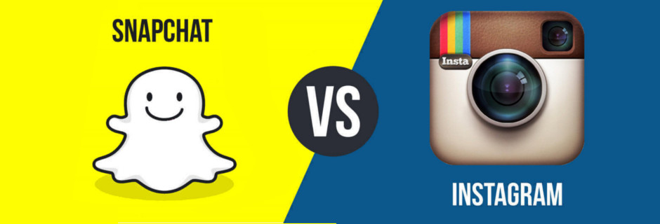Snapchat versus Instagram stories