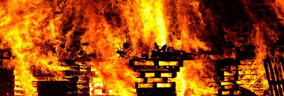 fire pallets