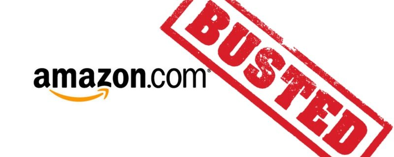 Amazon busted