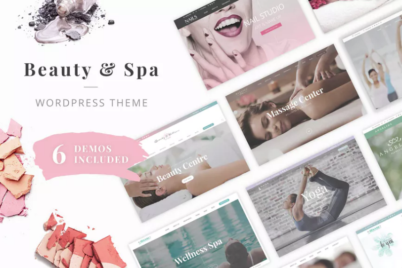 Beauty Wellness WordPress Theme